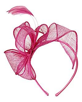 Pink Headband Fascinator