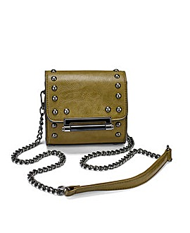 Small Studded Satchel