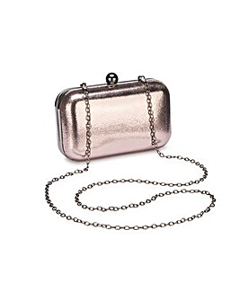 Alice Pewter Clutch Bag