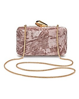 Coast Wray Velvet Box Clutch
