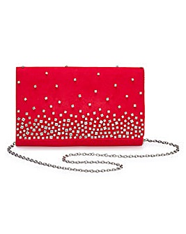 Joanna Hope Diamante Clutch Bag