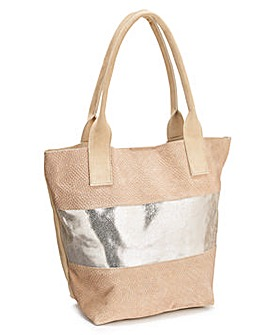 Joanna Hope Suede Shopper