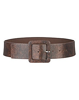 Snake Waist Belt with Buckle