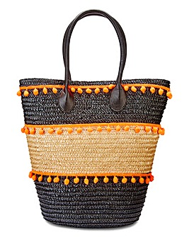 Pom Pom Beach Tote Bag