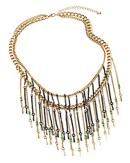 Fringing Necklace