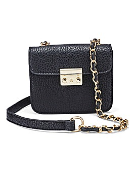 Black Mini Satchel Bag