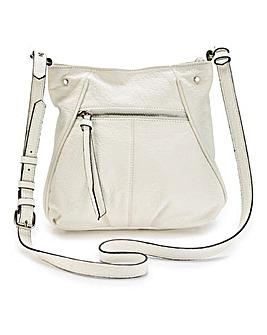 Ivory Slouch Across Body Bag