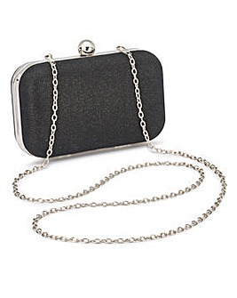 Alice Black Clutch Bag