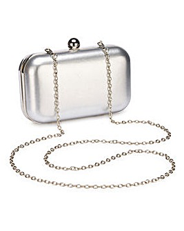 Alice Silver Clutch Bag