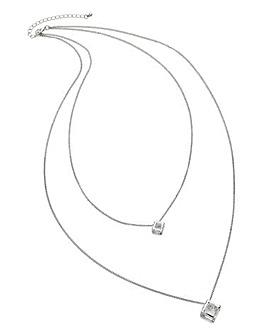 Double Layer Pendant Necklace
