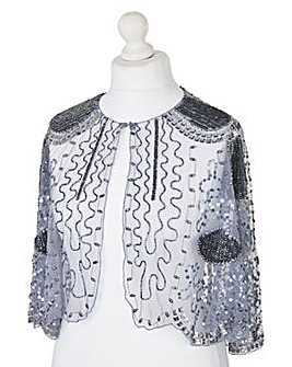 Sequin Beaded Cape