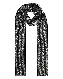 Skinny Sequin Scarf