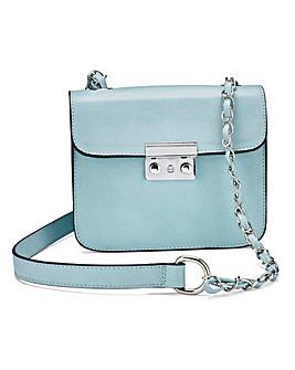 Blue Mini Satchel Bag