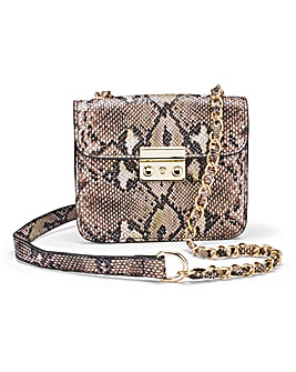 Python Mini Satchel Bag