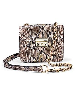 Python Mini Satchel Bag