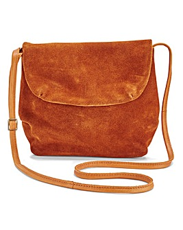 Pieces Macca Suede Cross Body