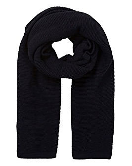Pieces Ribbed Knit Billi Scarf