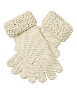 Chunky Knit Gloves