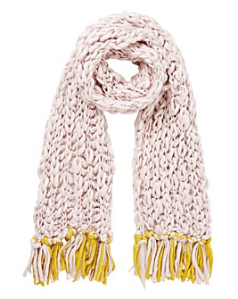 Extra Chunky Knit Scarf