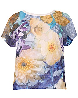 Samya Floral Print Top.