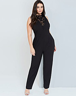Girls On Film Black Jumpsuit