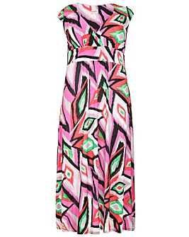 emily Cross Front Maxi Dress