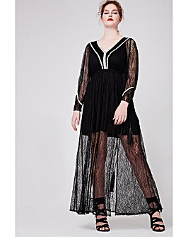 Elvi Premium Long Lace Dress