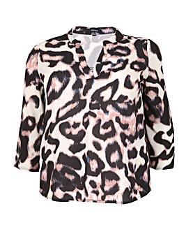 Samya Leopard Print Blouse.