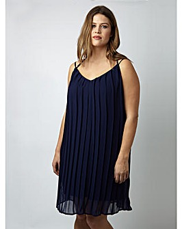 Lovedrobe GB Pleated Strappy Dress