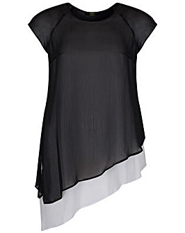 Koko Diagonal Cut Tunic