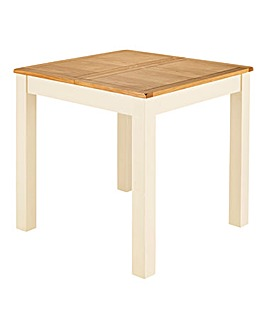 Harrogate Two Tone Small Extending Table