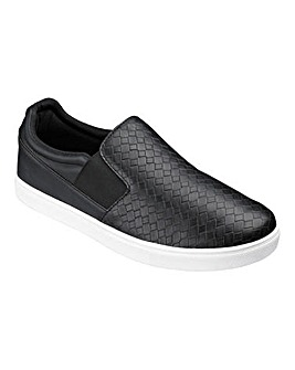 Trustyle Casual Slip-On Pump Extra Wide