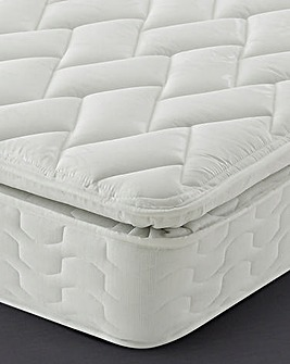 Silentnight Miracoil Pillowtop Single