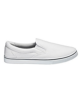Trustyle Basic Slip On Canvas Pump