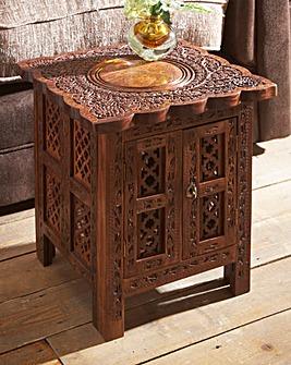 Taj Storage Side Table