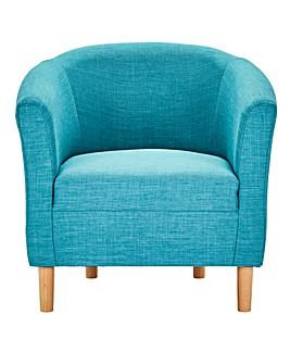 Cora Fabric Tub Chair