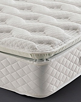 Silentnight Geltex Pillowtop Double