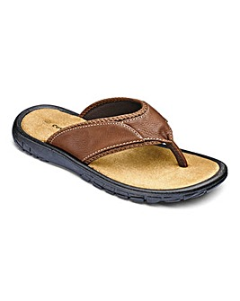 Cushion Walk Toe Post Sandal