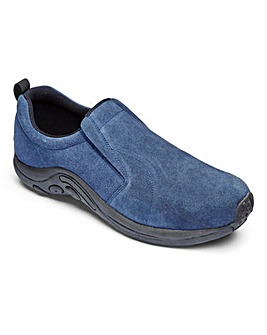 Trustyle Suede Slip On Shoe Standard Fit
