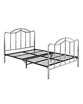 Deco Double Metal Bedstead