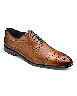 Leather Brogue Detail Shoe