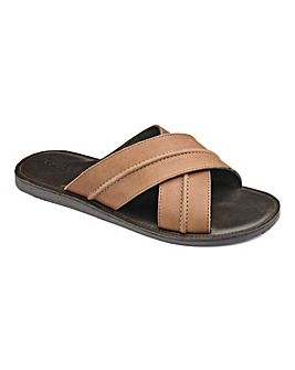 Trustyle Leather Mule Sandals