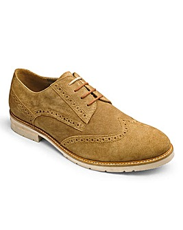 Trustyle Casual Leather Brogue Wide Fit