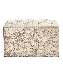 Bijou Ottoman Box in Boutique Fabric