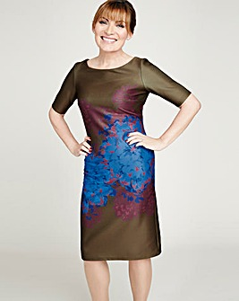 Lorraine Kelly Scuba Print Dress