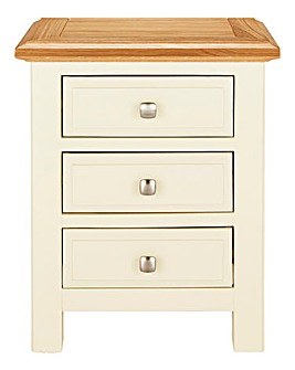 Taunton 3 Drawer Bedside Table