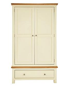 Taunton 2 Door 1 Drawer Wardrobe