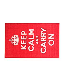 Keep Calm Rug