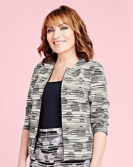 Lorraine Kelly Spot Textured Jacket