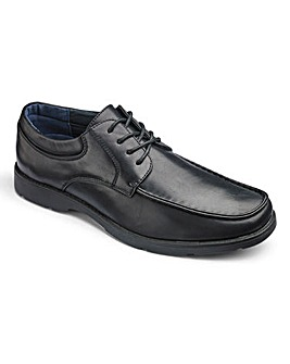 Cushion Walk Casual Lace Up Shoes Wide